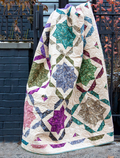 Moroccan Mosaic Quilt Kit