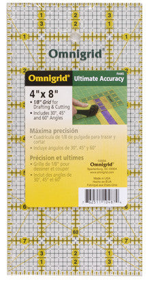 "4"" x 8"" All Over Grid Ruler"