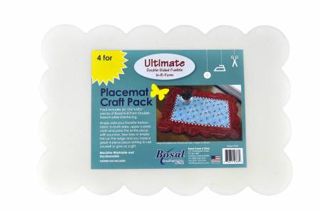 Scalloped Edge Placemat pack