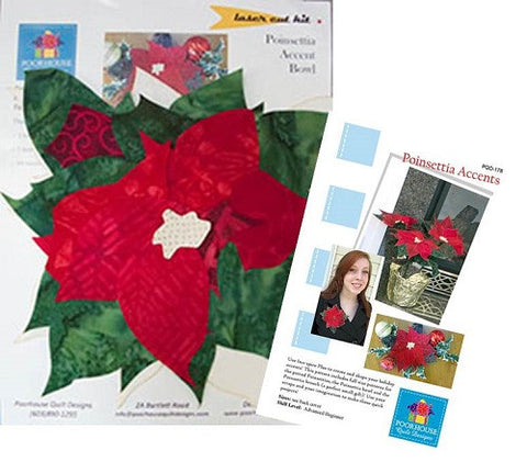 Poinsettia Accents Laser Cut Kit