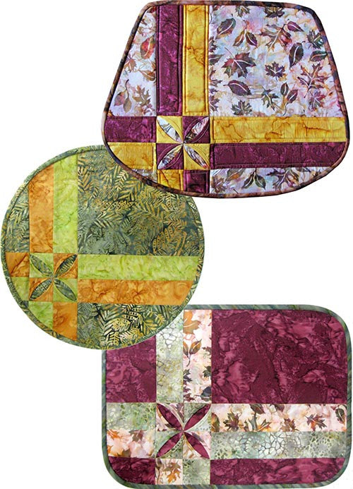 Tea Leaf Place Mats Stina S Quilt And Sewing Supplies