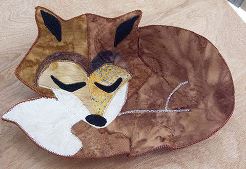 Finished Forest Friends Fox Bowl