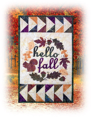 Finished Hello Fall Banner
