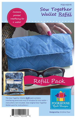 Sew Together Wallet Refill Kit