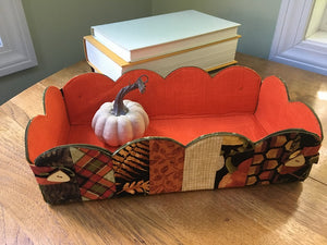 Autumn Joy Scalloped Basket Kit
