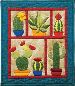 Succulents Wall Quilt