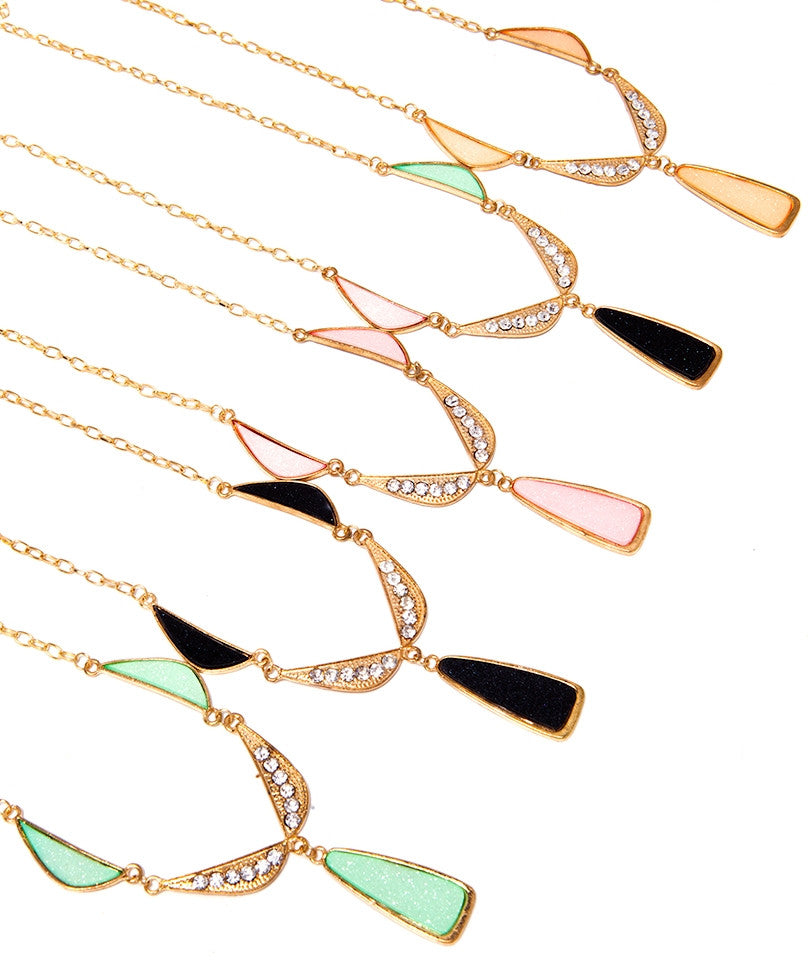 Geometric Shapes Necklace