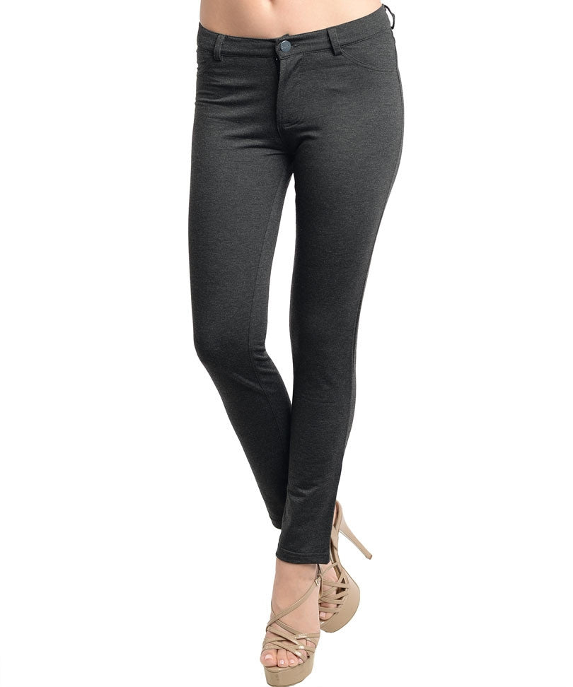 Charcoal Tight Pants