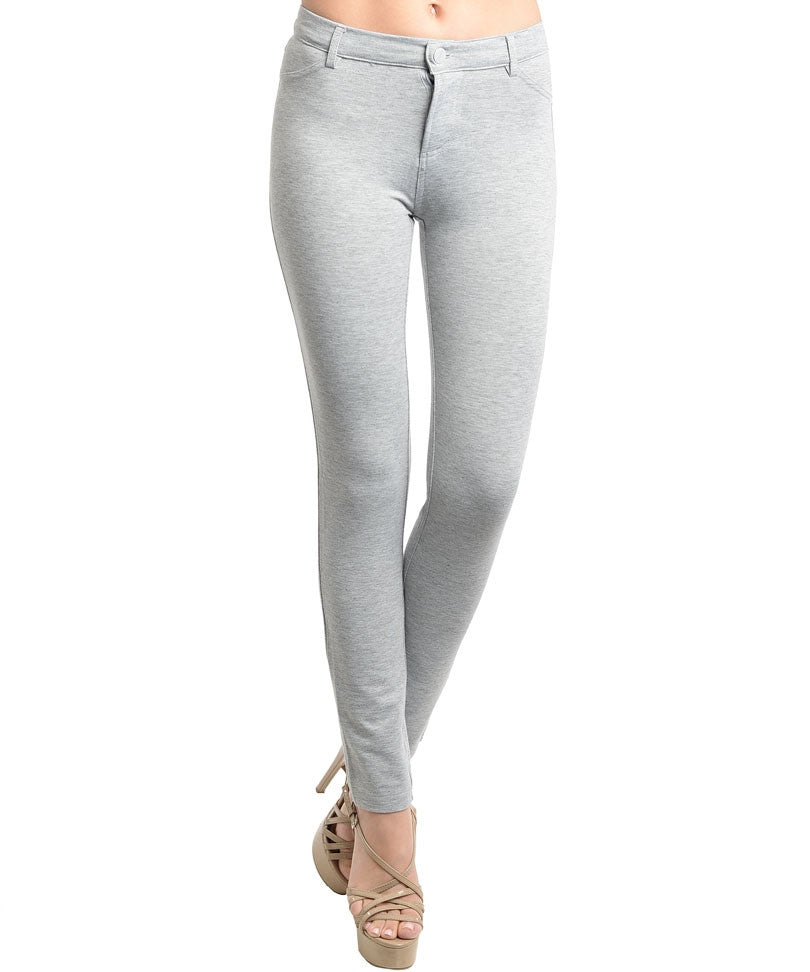 Light Gray Tight Pants