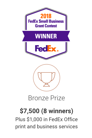 Guess who just won a grant from FedEX?