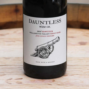 2016 Pinot Noir | Howitzer | Willamette Valley, Oregon