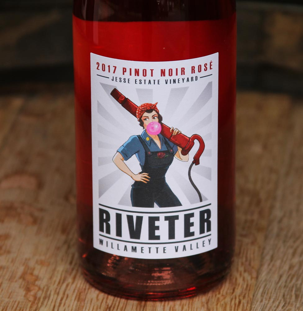 2017 Rosé Pinot Noir | RIVETER | Willamette Valley, Oregon