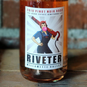2019 Rosé Pinot Noir | RIVETER | Jesse Estate | Willamette Valley, Oregon