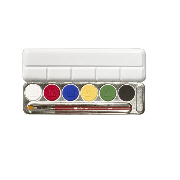 6 & 12 Color Magicake Aqua Paint Palettes