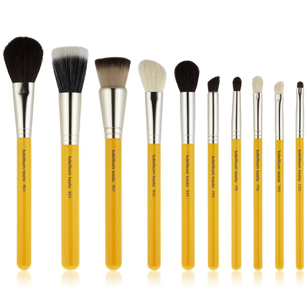 Studio Line - Mineral 10pc. Brush Set with Roll Up Pouch(1)