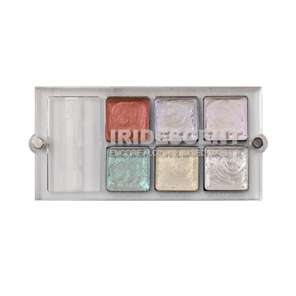 European Body Art Encore Versa Alcohol Palette Iridescent and Metallic Editions