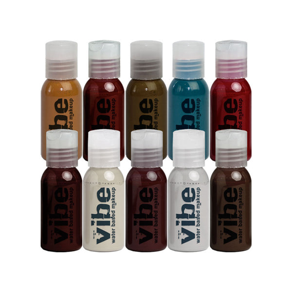 Vibe Undead 10 Pack Airbrush Set