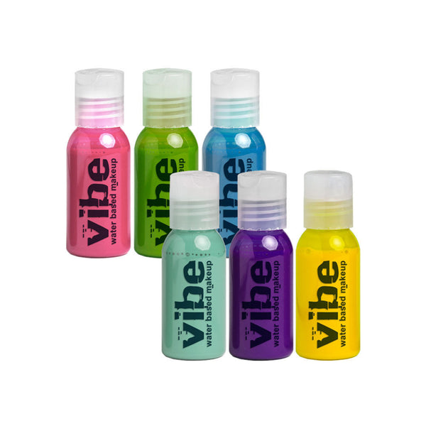 Vibe Glamour 6 Pack Airbrush Set