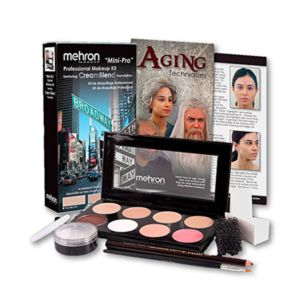 Mini-Pro Theatrical Student Makeup Kit