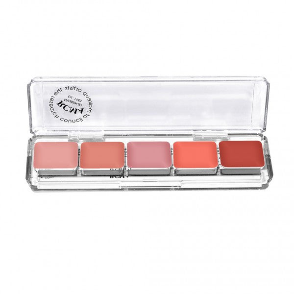 5 Part Series Cream Blush Palette