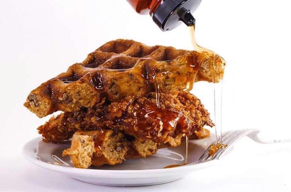 Rachael Ray's Cornflake Fried Chicken & Waffles