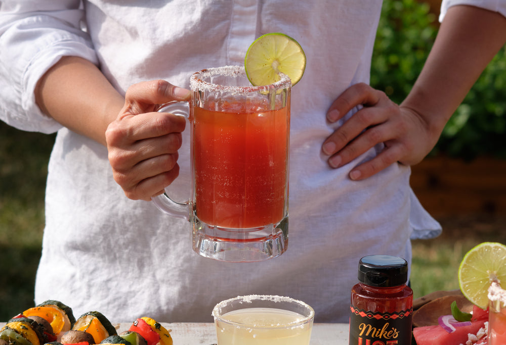 Mike's Hot Honey Michelada