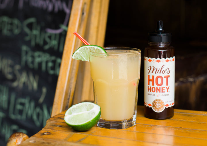 Recipe: Mike's Hot Honey Paloma