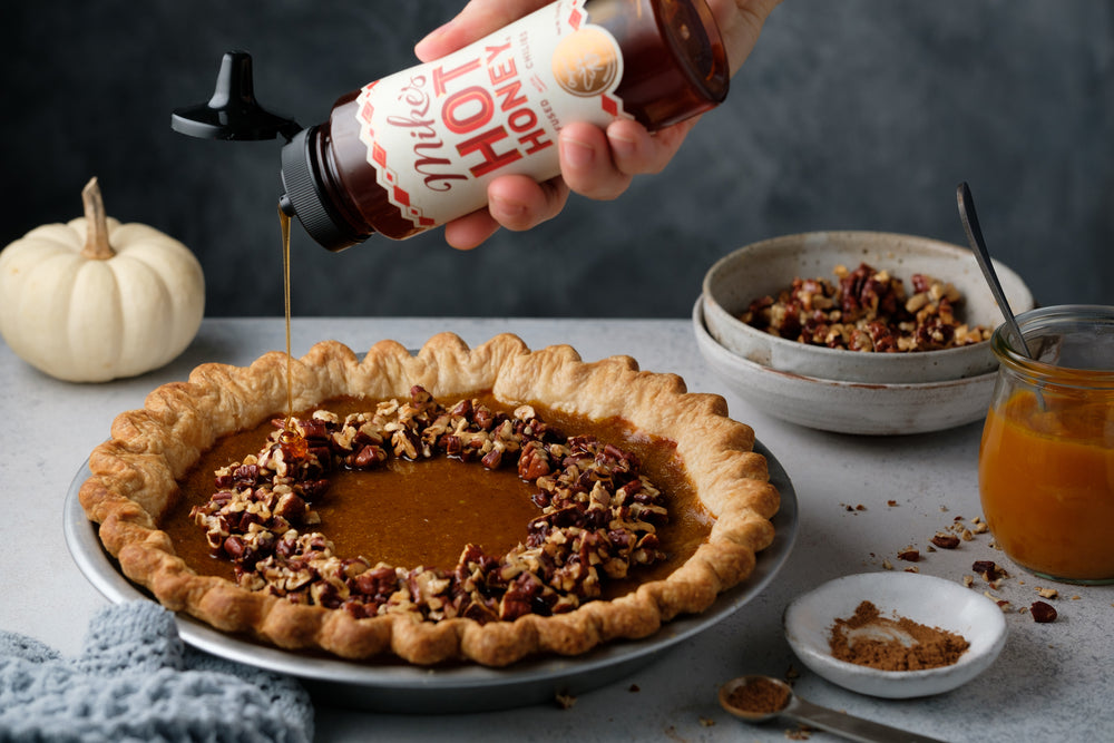 The Mike's Hot Honey Pumpkin Pie