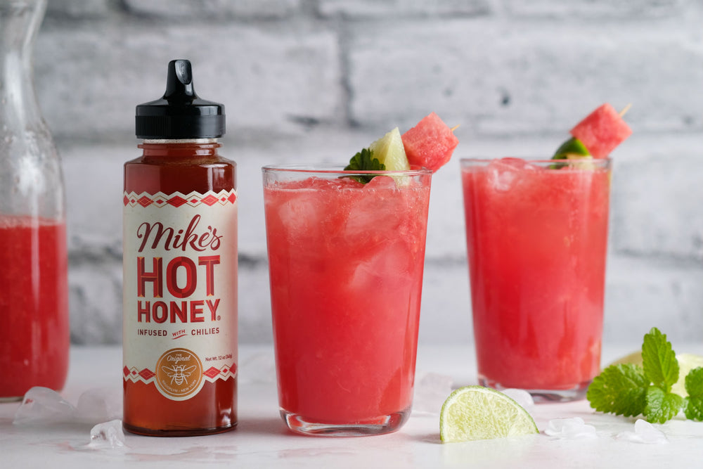 Hot Honey Watermelon Mule