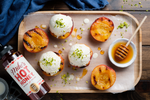 Hot Honey Grilled Peaches