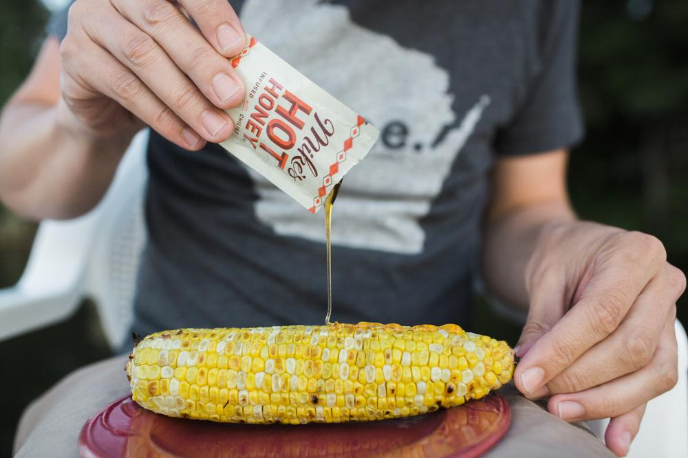 Mike's Hot Honey Buttered Corn