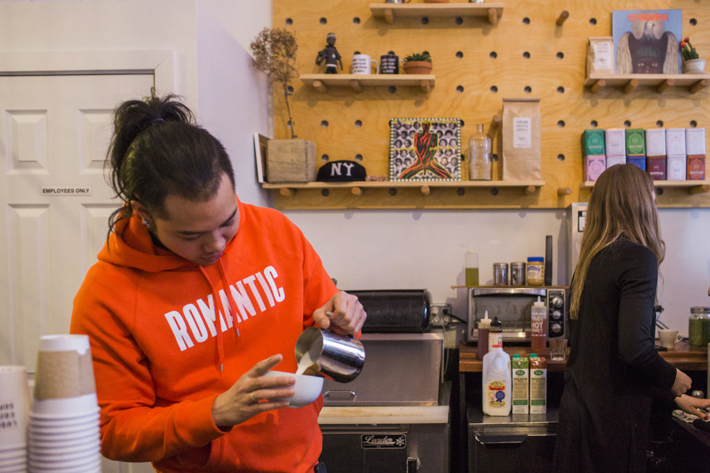 Ludlow Coffee Supply & Episode 3 of the Mike's Hot Honey Podcast