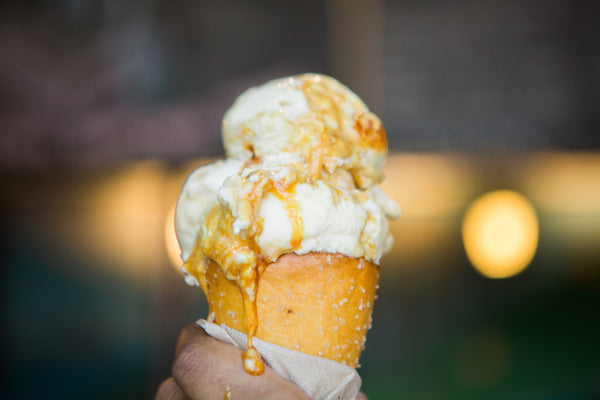 Mike's Hot Honey on the Menu at Ample Hills Creamery