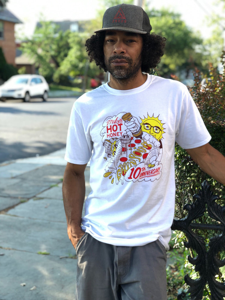 Mike's Hot Honey 10th Anniversary T-Shirt