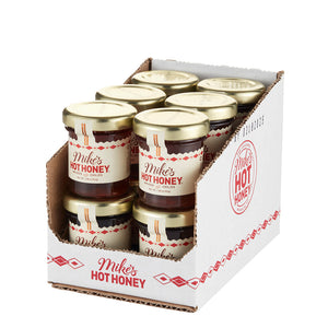 Mike's Hot Honey Mini Jars, Case of 12
