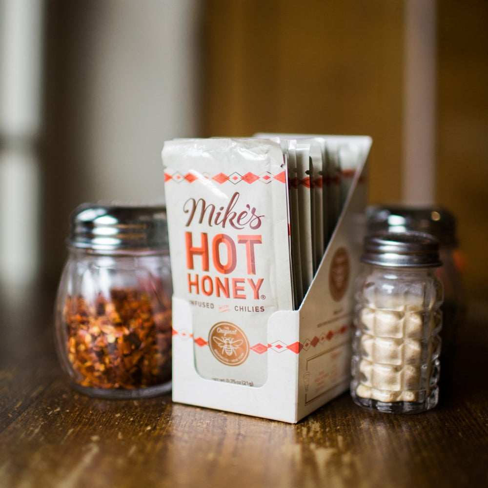 Mike's Hot Honey Squeeze Packet Display Case (24 ct)