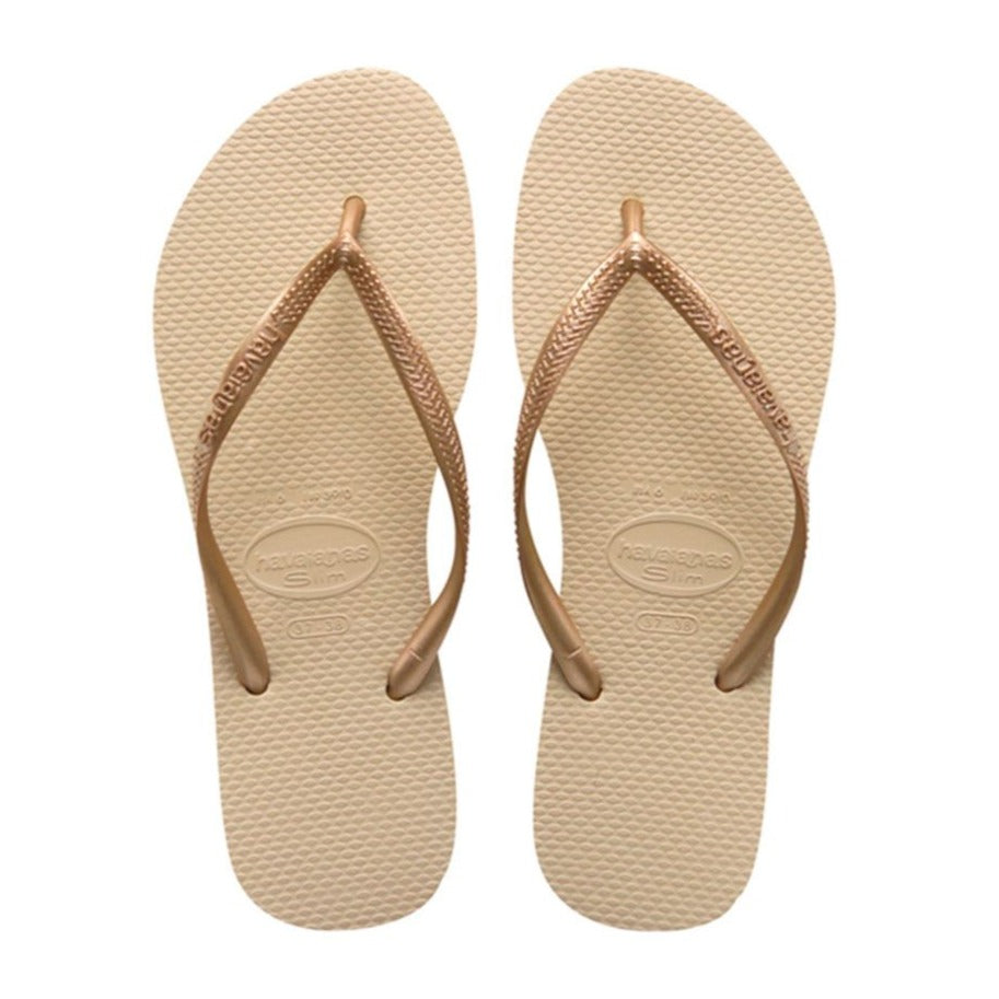Havaianas Slim Lisa, Grey Light Golden