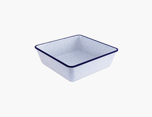 Load image into Gallery viewer, Zicco Melamine Bowl, Blue Rim+Dots