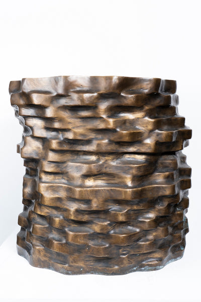 DOUGLAS YOUNG - COPPER COINS STOOL