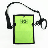 Letterbox Lightweight Pouch, Neon Yellow