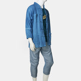 GOD x Indigo 11.50 natural dye Chinese jacket (blue)