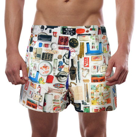 'Door God' men's boxer shorts