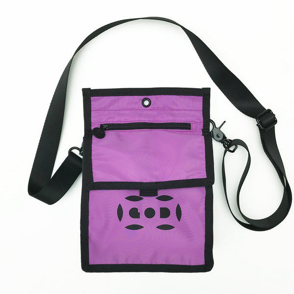 Letterbox Lightweight Pouch, Purple