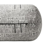 'NEWSPAPER' Bolster cover - long