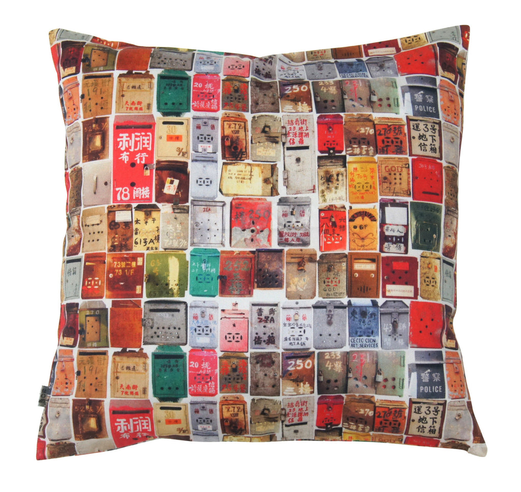 'Letterbox' cushion cover (45 x 45 cm)