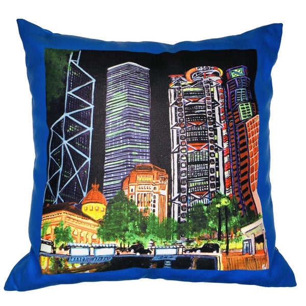 diFV-art Skyscapers Cushion Cover (45 x 45 cm)