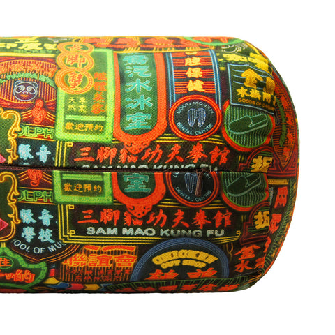'Nathan Road' bolster cover (19 x 52 cm)