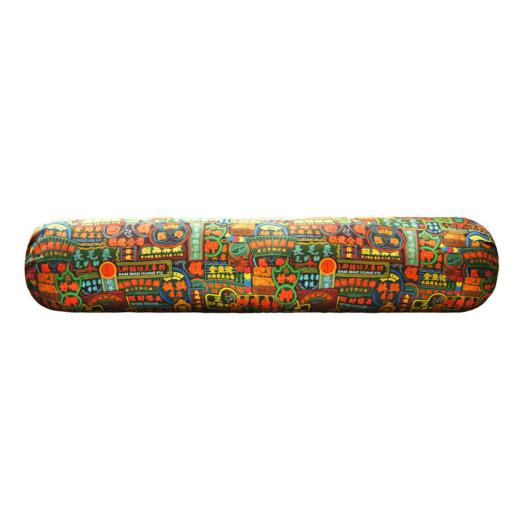 'NATHAN ROAD' bolster cover - long