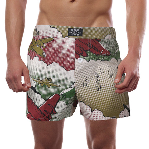 'Aircraft' boxer shorts (Camouflage), Underwear, Goods of Desire, Goods of Desire