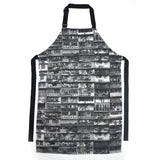'Yaumati' apron (black and white)